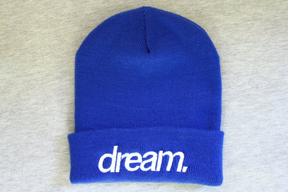 Image of dream. Beanie (Blue)