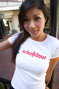 Image of White Asianlicious Shirts