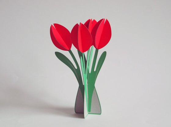 Image of 2 xcut&make Tulips -