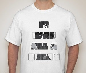 Image of WHITE - IT WAS ALL A DREAM - Limited SFS Release - BIGGIE