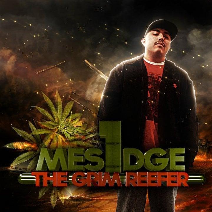 """Mesidge - """"The Grim Reefer"""" CD"""