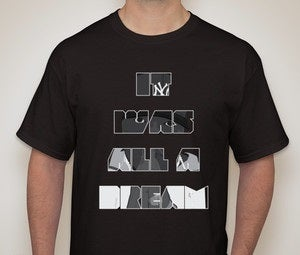 Image of BLACK - IT WAS ALL A DREAM - Limited SFS Release - BIGGIE