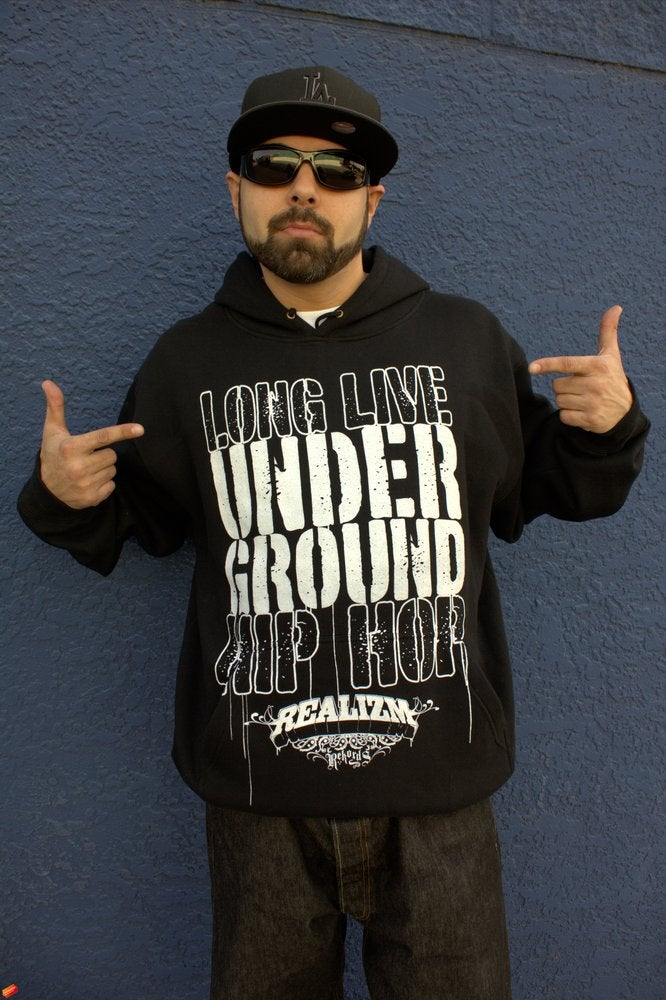 Image of Long Live Underground Hip Hop (Hoodie or Crewneck)