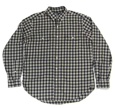 Image of Polo Ralph Lauren Black & White Plaid Shirt