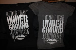 Image of Long Live Underground Hip Hop (Womens Tee)