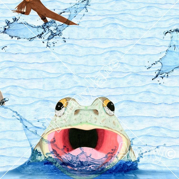 Image of Tiddalik The Flood Maker