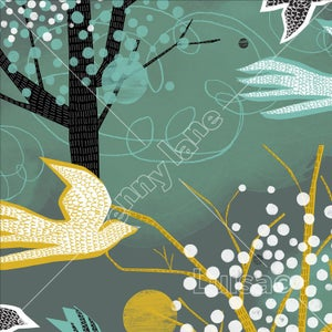 Image of Paper Bird Forest - Birds & Trees