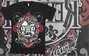 """Image of """"Set A Fire To My Heart"""" Tee"""