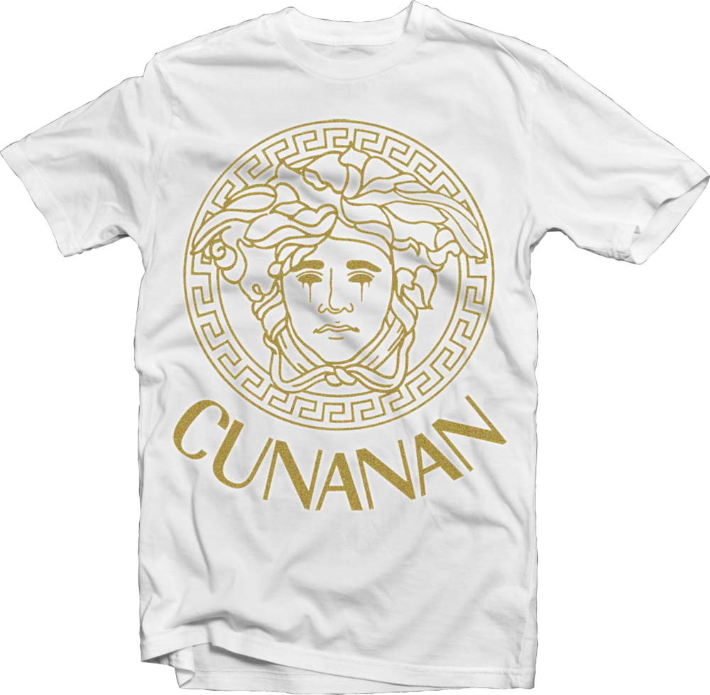 "Image of House Of Cunanan Limited ""GOLD"" T-Shirt (White)"