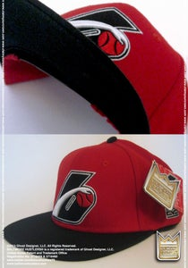 Image of Baltimore Hustlers® ***Snap Back Cap*** (Red/Black)