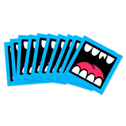 Image of LOUDMOUF STICKER PACK