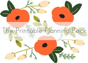 Image of The Printable Planning Pack
