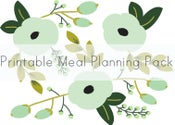 Image of Meal Planning Printable Pack