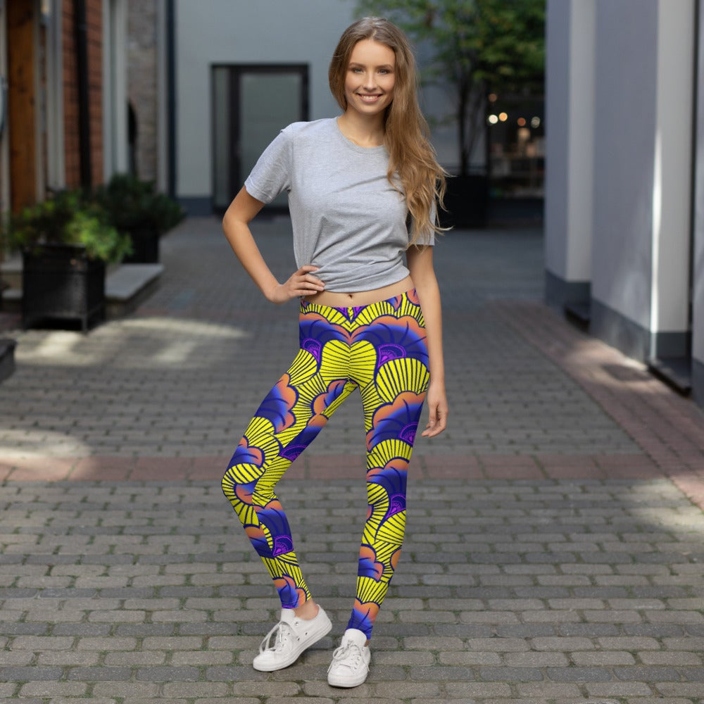 Image of Milaje Yellow Leggings