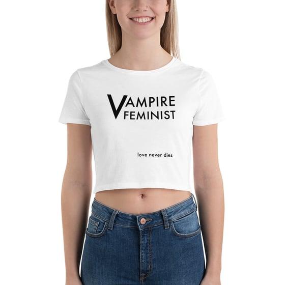 Image of Vampire Feminist Crop Top