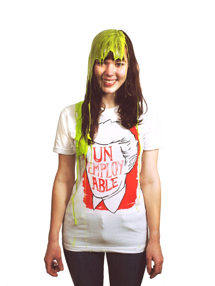Image of UNemployABLE Unisex RED T-shirt