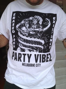 Image of Erased From Existence - Party Vibez T-shirt!
