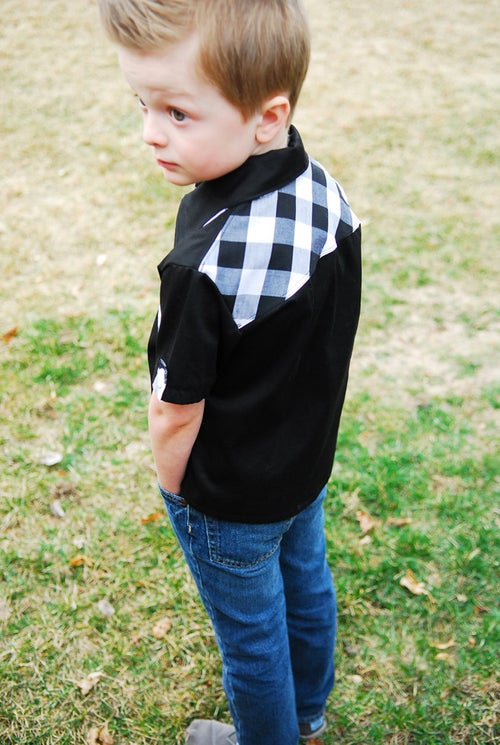 Image of Maxwell Shirt Pattern