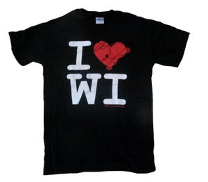 Image of i blade wisconsin tee