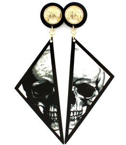 Image of Broken Skull Earrings