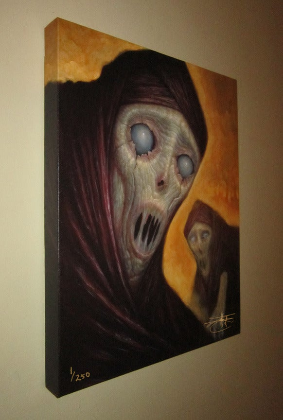 """""""Ghosts""""  Limited Edition Canvas Giclee- 16x20"""""""