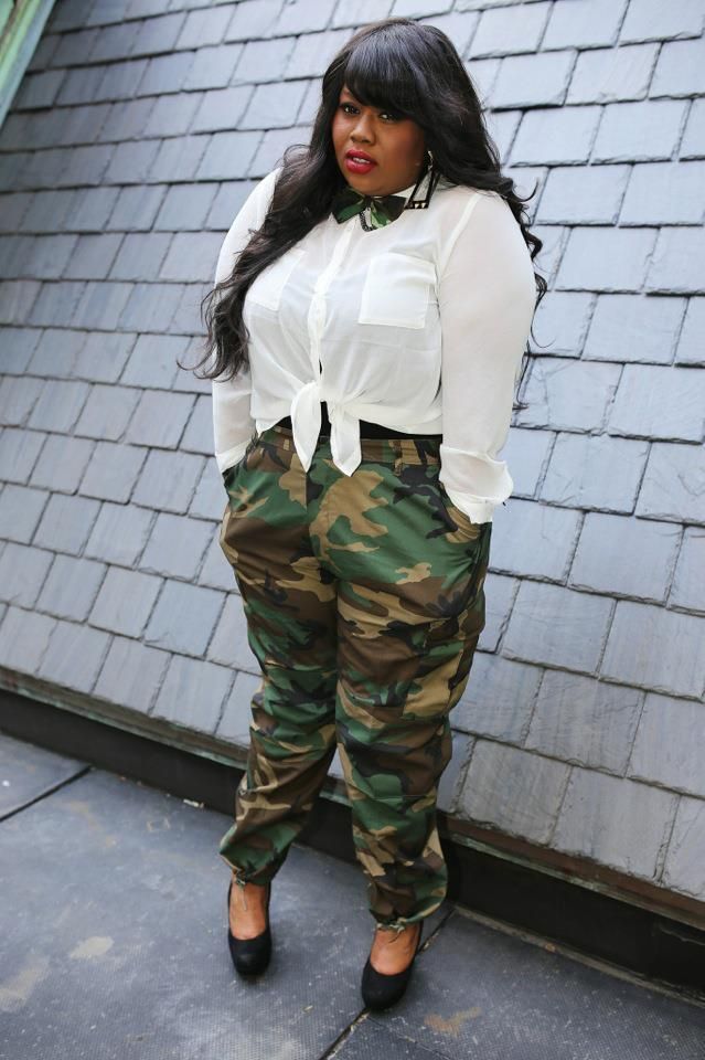 Image of Brand New High Waist Army Fatigue Pants