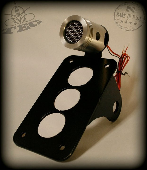 Image of Tail End Customs Power Piston Tail light bracket combo