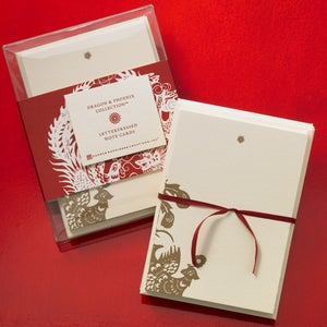 Image of Dragon & Phoenix Note Cards
