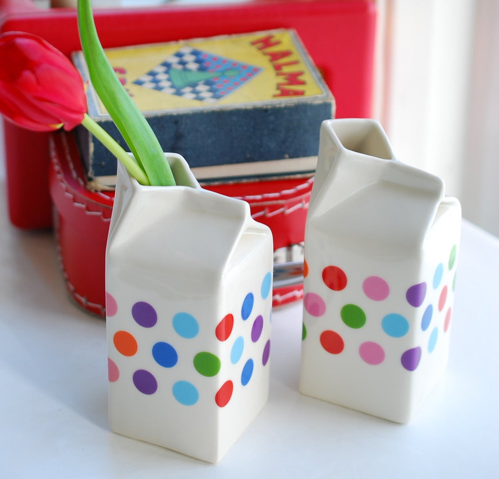 Image of Polkadot Milk Jug