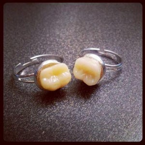 Image of sophie Adamson art and accessories-tooth ring(x1)