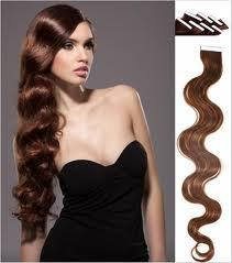 "Image of 20"" MYLUXURY1ST 20 Pieces Remy Tape Weft Body Wavy 50 grams"