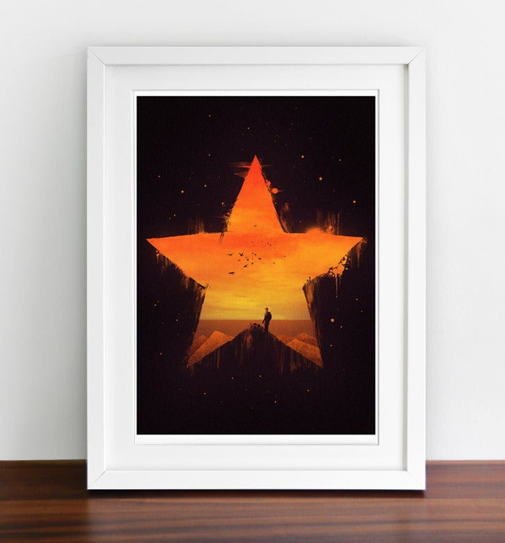 Image of Staring Through The Star