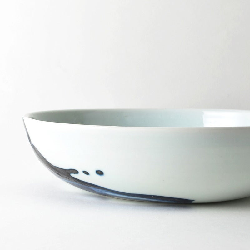 Image of porcelain serving dish
