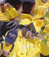 Jagged Yellow KüTz Hoodies