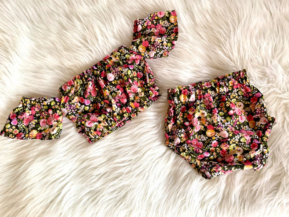 Image of Florally Beautiful OTS Top