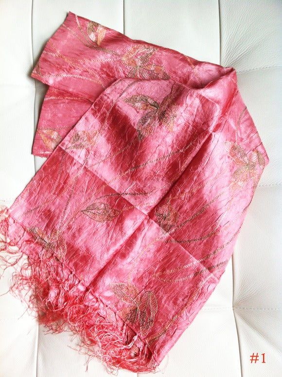 Image of silk scarf1234