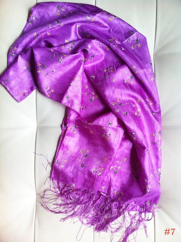 Image of silk scarf567