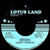 "Image of LL-1003 - Ramsey & Co. ""Love Call"" b/w ""Leg Grease"""