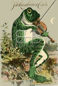Image of Larkin - Frog Playing the Violin