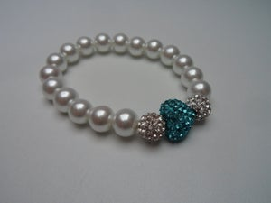 Image of Crystal Heart Bracelet