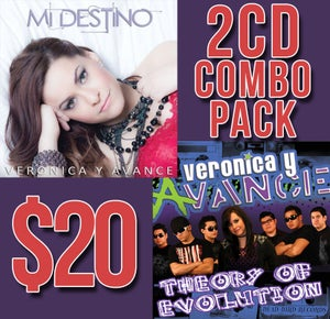 Image of Veronica y Avance - 2 CD COMBO PACK