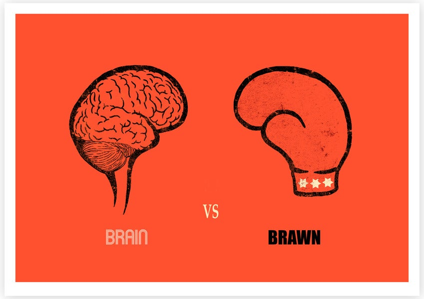 Image of Brain vs Brawn