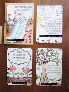 Image of make me a blessing postcard(s)