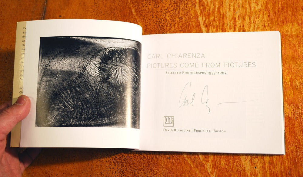 Pictures Come From Pictures - Carl Chiarenza signed