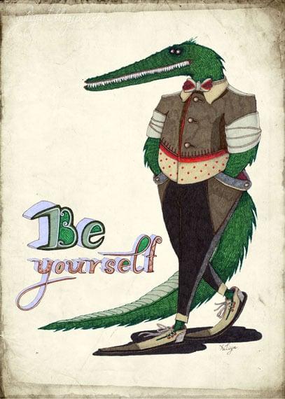 Image of Walking Crocodile