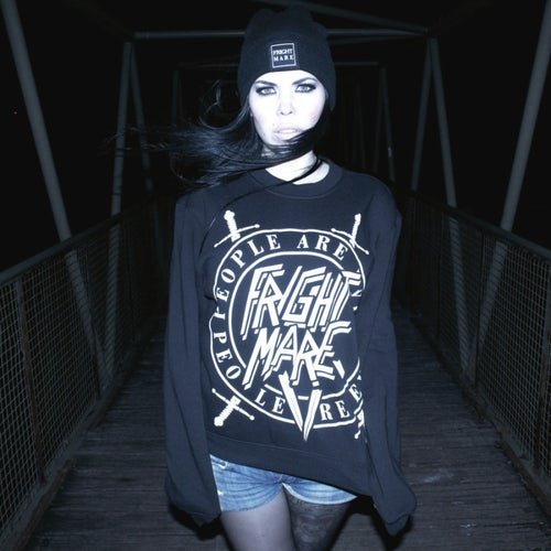 Image of PEOPLE ARE EVIL - Uni Sex Crew Neck