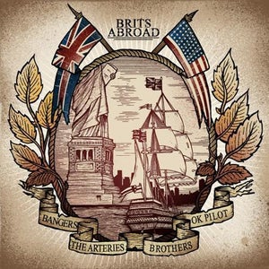 Image of ''BRITS ABROAD'' SPLIT 7""