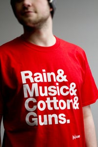 "Image of ""Manchester"" T- Shirt RED"