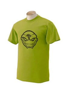 Image of Green Maniacal Smile Iconic Head T-Shirt