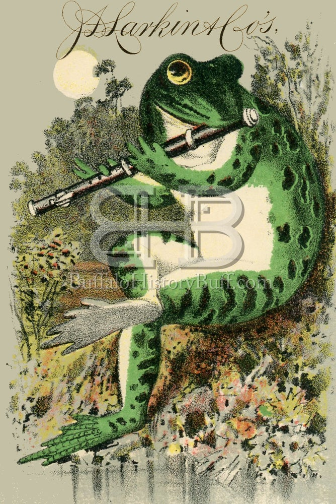Buffalo History Buff Larkin Frog Playing The Flute